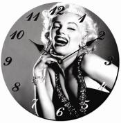 WALL CLOCK MARILYN MONROE FACE KITCHEN CLOCK NOSTALGIA - Tinas Collection - The different design