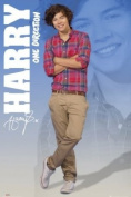 Laminated Music Maxi Poster featuring One Direction's Harry Styles 61x91.5cm