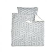 Baby Boum 80 x 80cm 100% Cotton Appliquéd Cradle Duvet Set