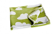 Farg Form Children Blanket with Cloud Print