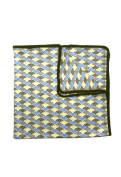 Fozia Unisex Baby Organic Double Sided Blanket All-in-One