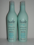 (2) Aquelle Marine Therapy System Hydralock Shampoo 400ml / 800mls Total