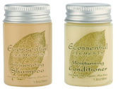 Ecossential Elements Conditioner and Shampoo Lot of 18 (9 of each) 35ml Bottles