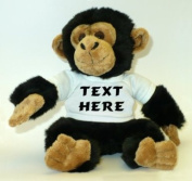 Personalised Monkey (Chimpanzee) Plush Toy