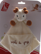 Sophie the Giraffe Comforter/ Blankie with Soother Holder
