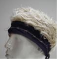 Billy-Bob Black Barbed Wire Bandana Wig - [Blonde Hair]