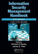 Information Security Management Handbook, 2013
