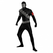 Snake Eyes Bodysuit Adult Halloween Costume, Size