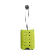 Belle Hop Leather Studded Luggage Tag - Green