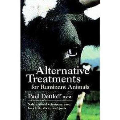 Alternative Treatments for Ruminant Animals (Paperback)