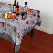 Amscan International Tablecloth Bloody Gauze