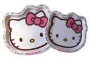 Sanrio Hello Kitty Plate Set - 2 Piece Large and Small Kids Plate
