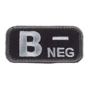 Mil-Spec Monkey Patch - Bloodtypes B-NEG SWAT