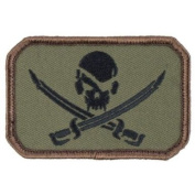 Mil-Spec Monkey Patch - Pirate Skull Flag Forest