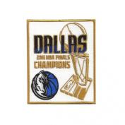 2011 NBA Finals Champions Dallas Mavericks Patch
