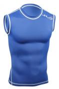 SUB Sports DUAL Mens Compression Top - Cap Sleeve All Season Base Layer