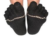 ToeSox Women's Ankle Full Toe Grip Non-Slip for Yoga, Pilates, Barre, Ballet Toe Socks