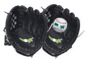 Bronx Senior Catch Set / Glove Set with Ball - Black / White, 30cm