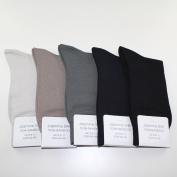 5 Pairs Supersoft Mens 100% Bamboo Socks Thermal Sock 7-11