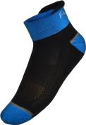 Funkier Summer Cycling Socks in Black/Blue
