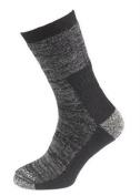 Extremities Merino Wool Hiker Socks Black Marl