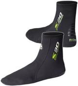 Waterproof - S30 Tropical Socks 2mm - Anti Slip Sole and Heel - Unisex