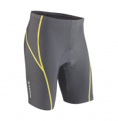 Tenn-Outdoors Men's 8 Panel Professional Viper with Pad Cycling Shorts