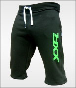 Mens Fleece Shorts Jogging Bottom Joggers MMA Boxing Gym Fitness Sweat Shorts Casual Home Wear