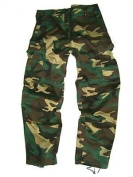Boys 7-8 years DPM Woodland Camouflage Combat Cargo Trousers