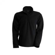 Kariban Mens Enzo 1/4 Zip Up Casual Fleece Jackets