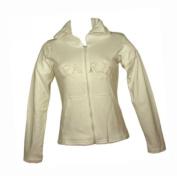Souvenirs of France - Paris Sweatshirt Jacket with hood - Colour : White