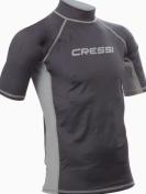 Cressi Men's Rash Guard Short Sleeve UV Sun Protection (UPF) 50 - Cressi