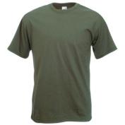 Fruit of the Loom Super Premium T-Shirt - Olive Large