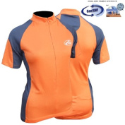 CC-UK 'Clima-Tek' Ladies Short Sleeve Cycle Cycling Jersey