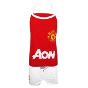Manchester United Fc Man Utd Cooks Apron Pinny - Gift For Kitchen Red Kit Shirt