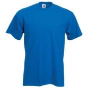 Fruit of the Loom Super Premium T-Shirt - Royal Blue XL