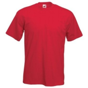 Fruit of the Loom Super Premium T-Shirt - Red Large
