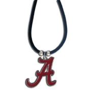 NCAA Alabama Crimson Tide Rubber Cord Necklace