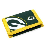 Green Bay Packers Nylon Wallet Official Merchandise