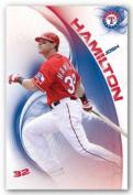 Josh Hamilton - Texas Rangers MLB Art Print Poster