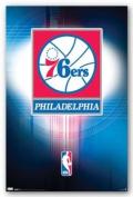 Philadelphia 76ers Logo - 2010 Art Print Poster