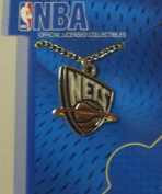 aminco New Jersey Nets NBA Team Pendant w/18 '' Chain