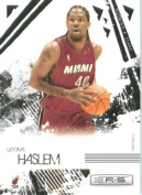 2009 /10 Leaf Rookies & Stars Basketball Card # 50 Udonis Haslem Miami Heat Mint Condition- Shipped