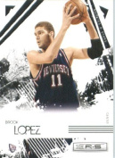 2009 /10 Leaf Rookies & Stars Basketball Card # 58 Brook Lopez New Jersey Nets Mint Condition- Shipped
