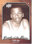 2009 10 Upper Deck Greats of the Game Basketball Card # 2 Freddie Lewis Sun Devils Mint Condition -