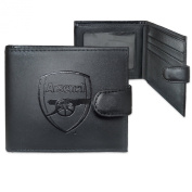 Arsenal Leather Wallet Embossed Crest