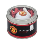Manchester United Golf Ball and Tee Gift Set