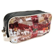 Official England RFU Retro Wash Bag - A great gift / present for men, boys, sons, husbands, dads, boyfriends for Christmas, Birthdays, Fathers Day, Valentines Day, Anniversaries or just as a treat for and avid football fan
