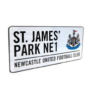 Newcastle United FC. 'St James Park' Metal Street Sign