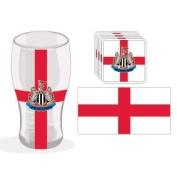 Newcastle United F.C. - Club And Country Mini Bar Set